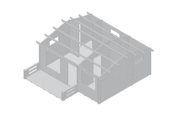 Artybel-Casas-de-Madera-45mm-Audra-01