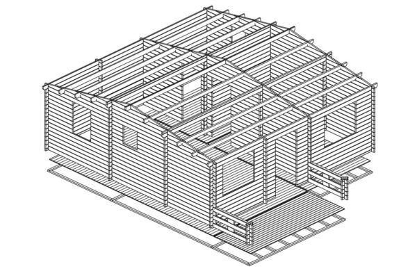 Artybel-Casas-de-Madera-45mm-Audra-B-01