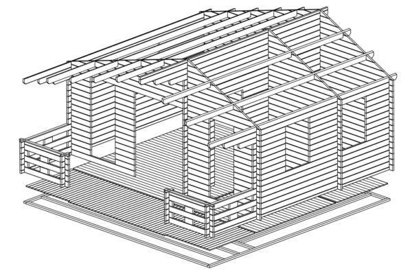 Artybel-Casas-de-Madera-45mm-Padova-A-44-ISO-01
