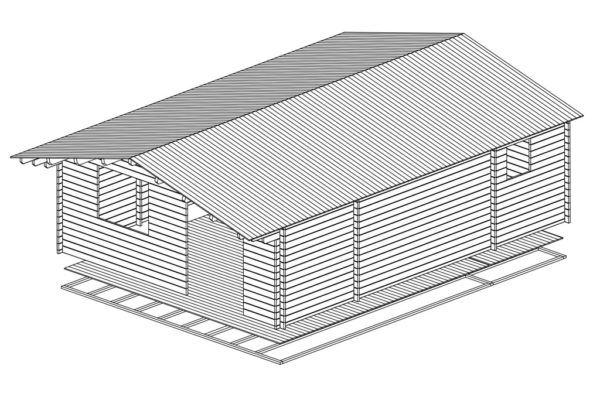 Artybel-Casas-de-Madera-45mm-Venta-6x8-WC-44-ISO-01