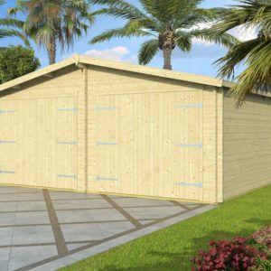 Artybel-Casas-de-Madera-Garage-de-Madera-45mm-Garage_600x600